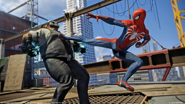 Spider-Man PS4 Best Game of 2018 from Insomniac