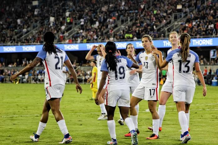 US Women's National Soccer
