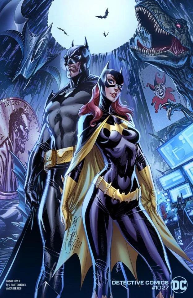Detective Comics 1027 - J Scott Campbell variant