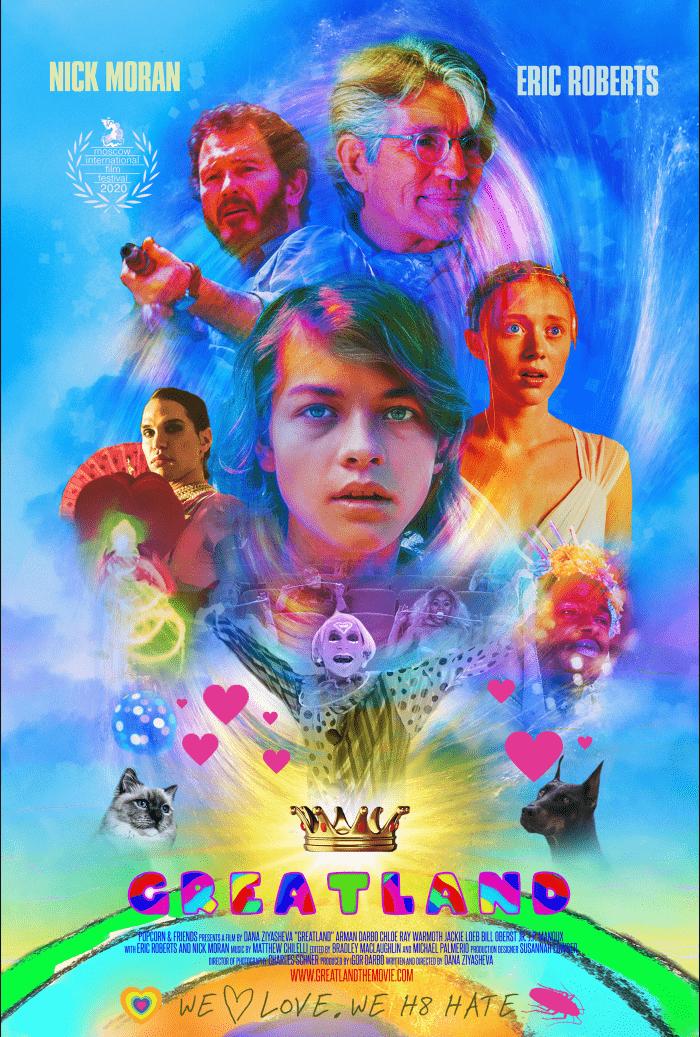 Greatland Trailer poster