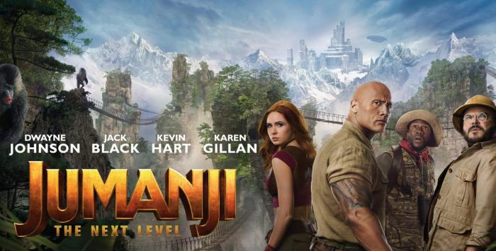 Jumanji: The Next Level opens in the US on 12/13/19.