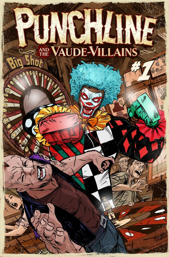 Punchline and the Vaude-Villains #1
