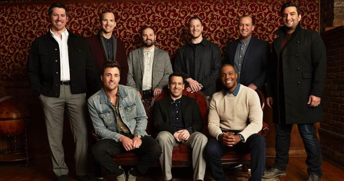 "Straight No Chaser on the ""One Shot Tour"" played the Fox Theatre  on December 18, 2018. Photo Credit: The Fabulous Fox"