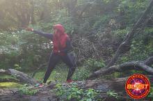 LadyJ Cosplay Spidergirl Critical Blast Bombshell July 2016 Spidergirl
