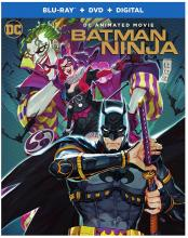 Batman Ninja Blu-ray and DVD