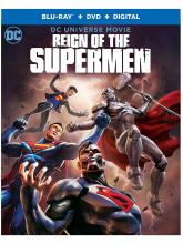 Reign of the Supermen Blu Ray DVD