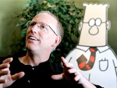 Scott Adams and Dilbert