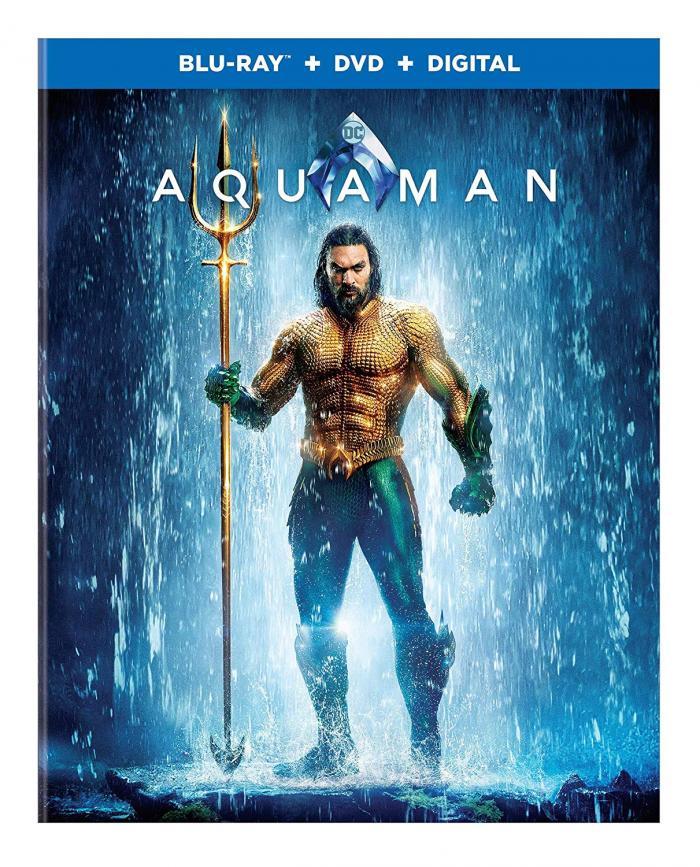 Aquaman on Bluray