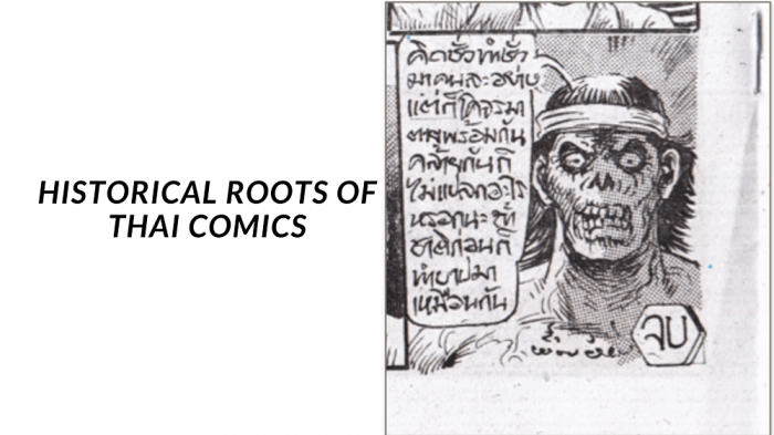 Historical Roots of Thai Comics