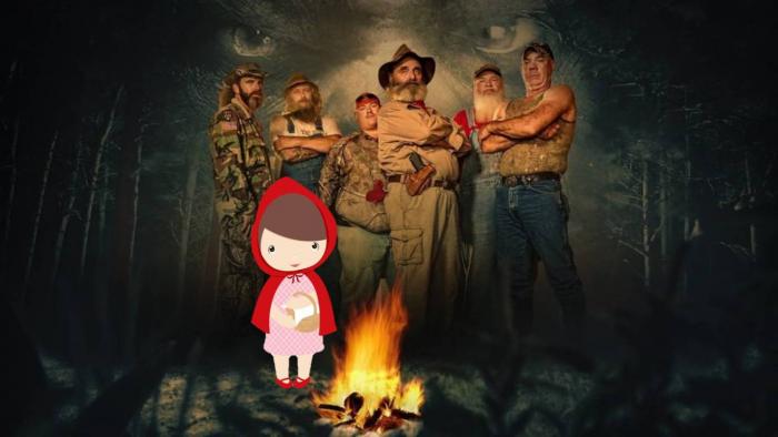 Mountain Monsters Little Girl