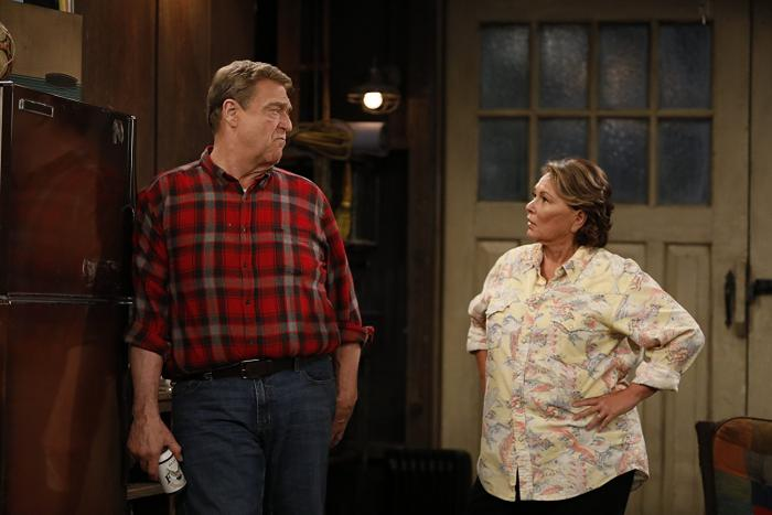 John Goodman and Roseanne Barr -- The Conners