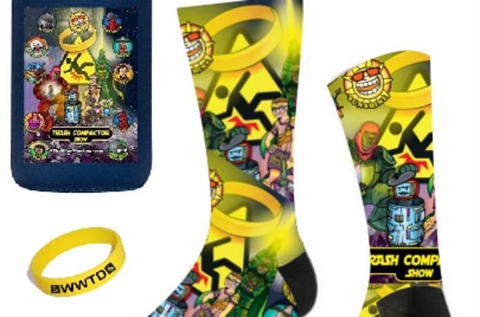 Trash Compactor Show Socks