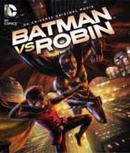 Batman vs Robin DC Universe DVD Critical Blast