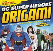 DC Superheroes Origami Superman Batman Wonder Woman Critical Blast