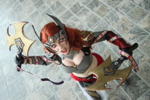 Hayley Marie as Angela; photogray by Rick Currier