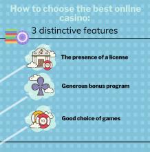 Best Online Casino: Three distinctive features