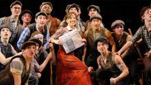 NEWSIES plays at the Fox Theatre Jan 19-31.
