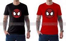 Spider-Man Homecoming Mask Logo Tee from Film Jackets