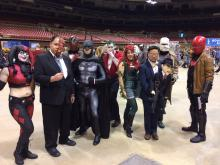 Gotham City on display at Wizard World St. Louis 2017